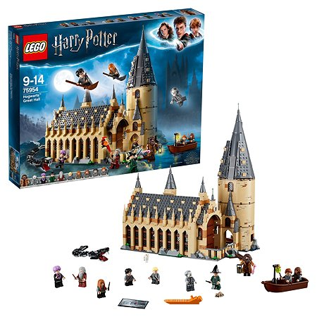 Конструктор LEGO Harry Potter Большой зал Хогвартса 75954