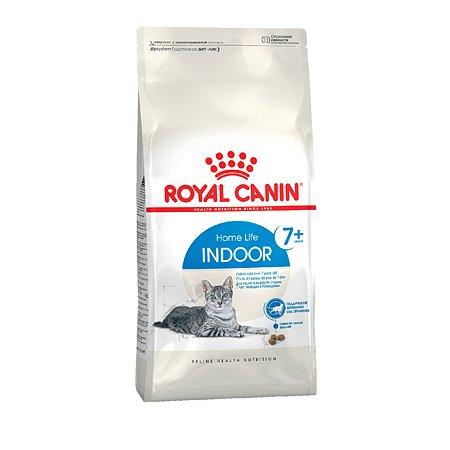 Корм сухой для кошек ROYAL CANIN Indoor 1.5кг пожилых кошек постоянно проживающих в помещении