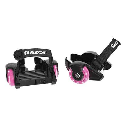 Ролики на обувь RAZOR Jetts Mini - Розовый Razor