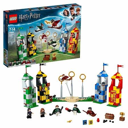 Конструктор LEGO Harry Potter Матч по квиддичу 75956