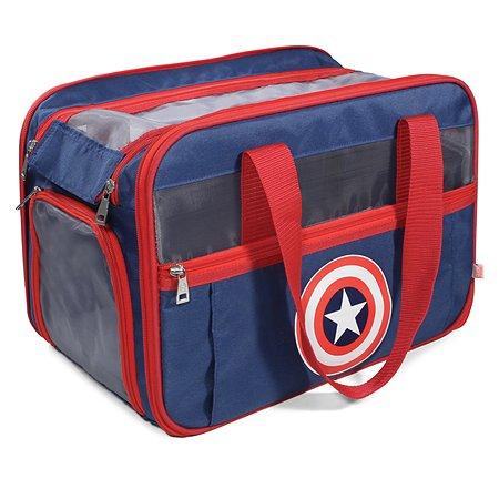 Сумка-переноска для животных Triol Disney Marvel Капитан Америка 31871066