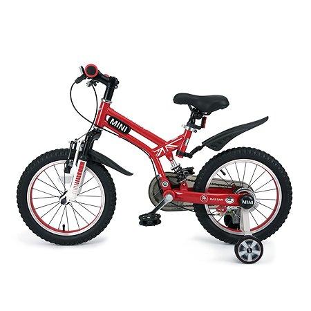 """Велосипед Rastar Mini Cooper 16"""" Красный"""