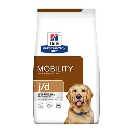 Корм для собак HILLS Prescription Diet j/d Joint Care для здоровья суставов с курицей сухой 12кг