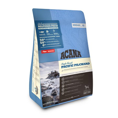 Корм для собак ACANA Singles Pacific Pilchard беззерновой тихоокеанская сардина 340г