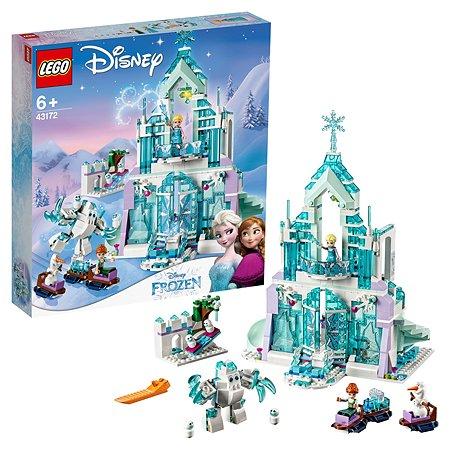 Конструктор LEGO Disney Frozen Волшебный ледяной замок Эльзы 43172