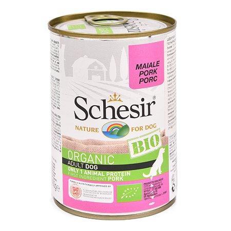 Корм для собак Schesir со свининой 400 г