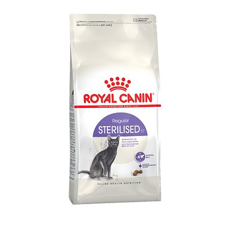 Корм сухой для кошек ROYAL CANIN Sterilised 37 2кг стерилизованных