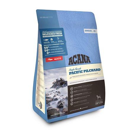 Корм для собак ACANA Singles Pacific Pilchard беззерновой тихоокеанская сардина 2кг