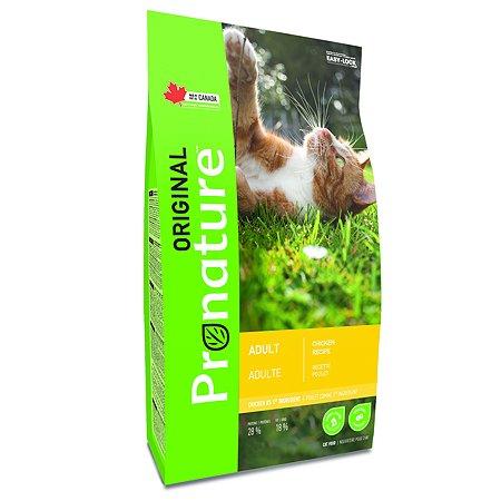 Корм для кошек Pronature Original курица 2.27кг