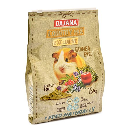 Корм для морских свинок DAJANA Exclusive взрослых 1.5 кг DP412K