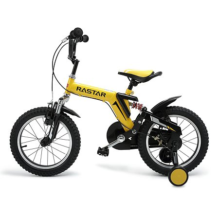 """Велосипед Rastar 14"""" Желтый"""