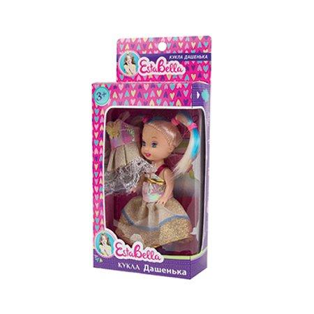 Маленькая кукла EstaBella Дашенька со сменным платьем