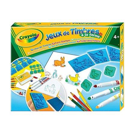 Штампики Crayola с животными 20 шт