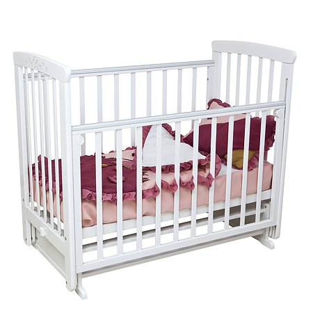 Кровать детская Красная Звезда (Можга) Марина белый