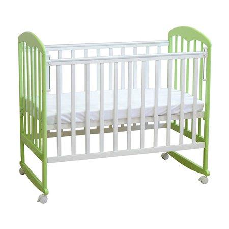 Кровать Фея 323 белый-мята