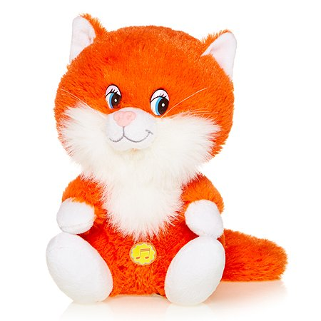 Котенок Лапушка Maxi Play озвученный(рыжий)