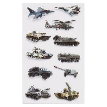 Наклейка декоративная зефирная Липляндия 4 Военная техника 1 70*160