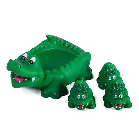 Набор для ванной Baby Go Семейка крокодилов