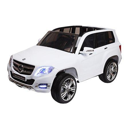Электромобиль Kreiss Mercedes GLK300 12V  белый (свет/звук)