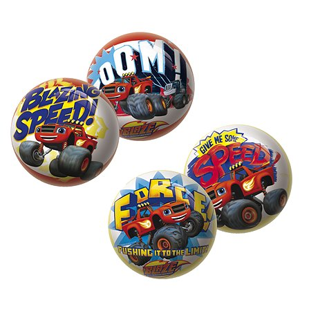 Мяч Unice Вспыш и чудо-машинки 15 см в ассортименте