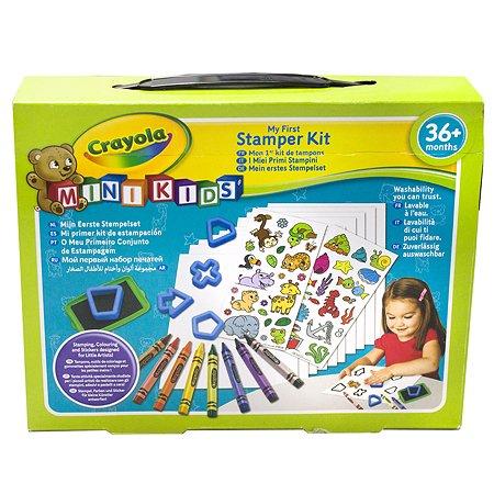 Мой первый набор печатей Crayola Mini Kids