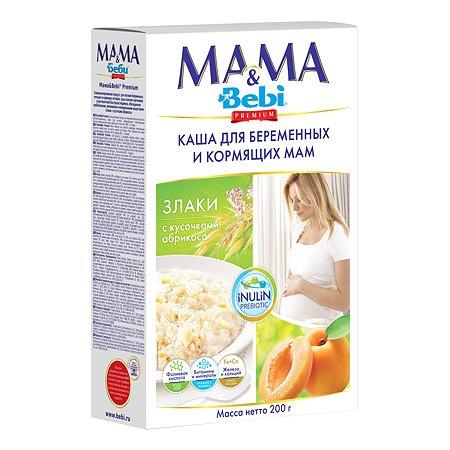 Каша Bebi Mama&Bebi Злаки и кусочки абрикоса