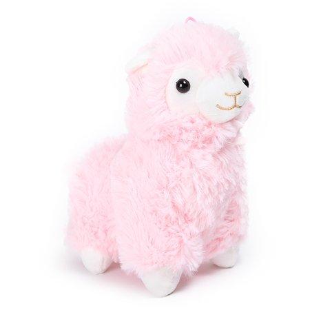 Игрушка мягкая Laffi Лама Розовая 5259
