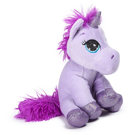 Игрушка мягкая Laffi Единорог Фиолетовый 5309
