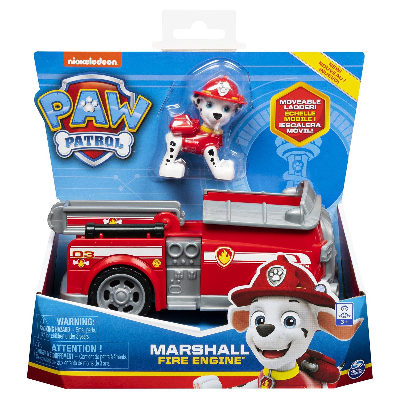 Щенячий патруль игрушка маршал на колесах
