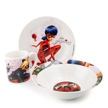 Набор посуды ND PLAY Леди Баг и Супер Кот 3предмета 11765
