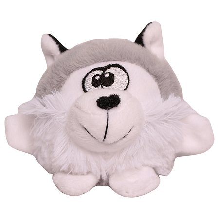 Игрушка для собак LIONMANUFACTORY Волчонок-колобок пищалка в ассортименте LMG-D0054-B
