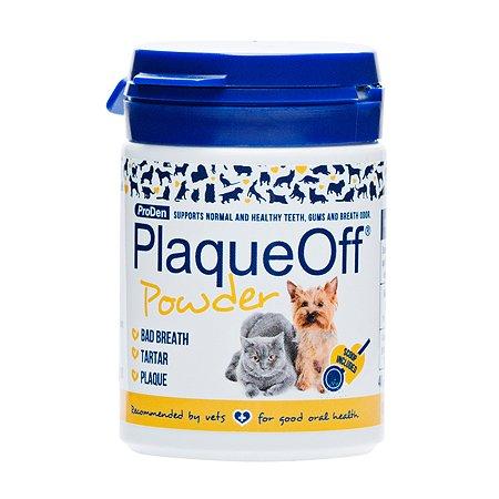 Средство для кошек и собак PlaqueOff для профилактики зубного камня 40г