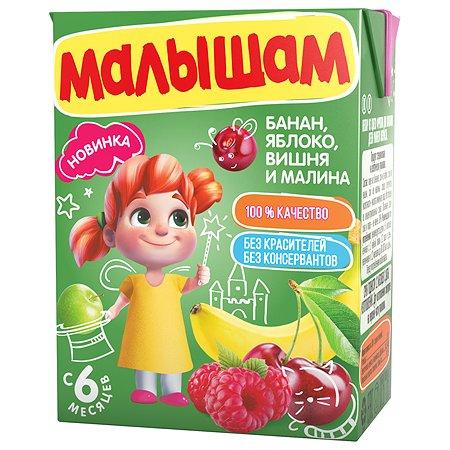 Нектар ФрутоНяня Малышам из смеси фруктов 0.2л с 6месяцев
