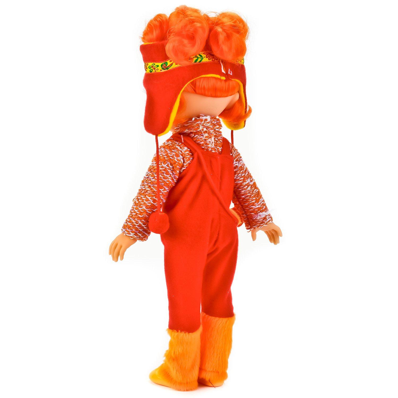 Кукла Карапуз Cказочный патруль Алёнка в зимней одежде ...