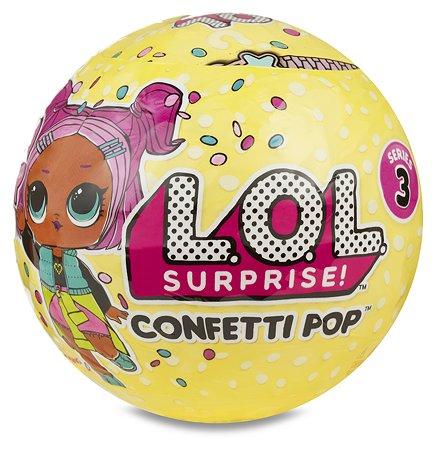 Кукла LOL Конфетти в непрозрачной упаковке (Сюрприз) 551515