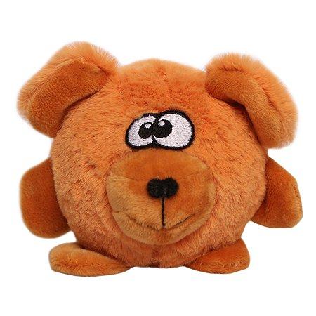 Игрушка для собак LIONMANUFACTORY Мишка-колобок пищалка LMG-D0055-B