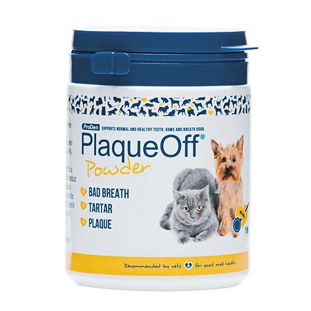 Средство для кошек и собак PlaqueOff для профилактики зубного камня 180г