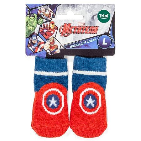 Носки для животных Triol Disney Marvel Капитан Америка L 12231035