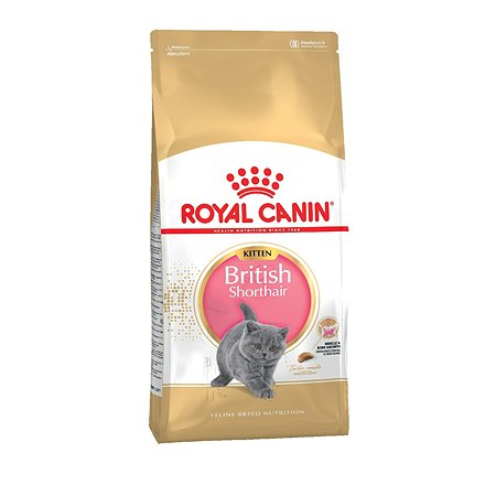 Корм сухой для котят ROYAL CANIN British Shorthair 2кг породы британской короткошерстной