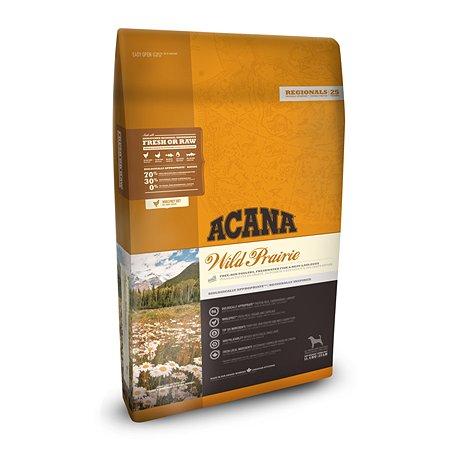 Корм для собак ACANA Regionals Wild Prairie Dog беззерновой курица 11.4кг