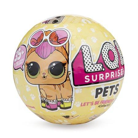 Кукла LOL Питомцы в непрозрачной упаковке (Сюрприз) 549574