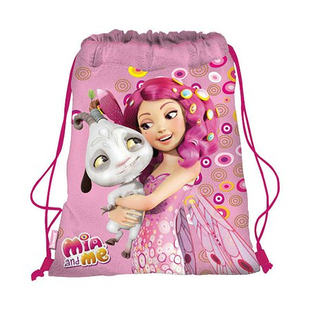 Сумка-рюкзак Kinderline для обуви (розовый)