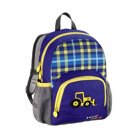 Рюкзак Hama Junior Dressy Excavator (сине-желтый)