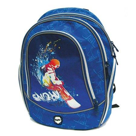 Рюкзак школьный Mag Taller Snowboarder (синий)