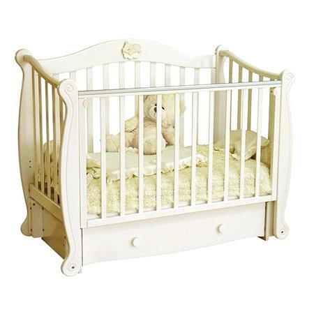 Кровать детская Красная Звезда (Можга) Валерия слоновая кость