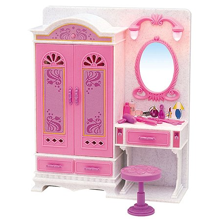 Набор мебели Dolly Toy для кукол Волшебное трюмо