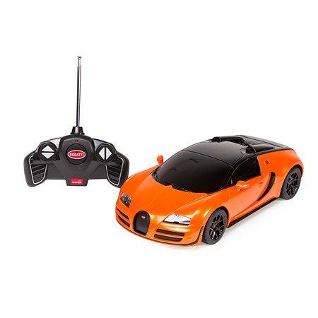 Машинка р/у Rastar Bugatti Veyron Vitesse1:18 оранжевая