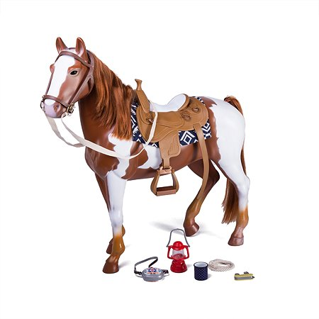Лошадь для куклы Our Generation порода Аппалуза