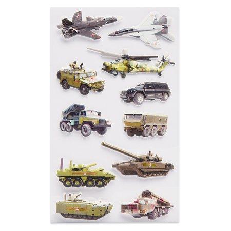 Наклейка декоративная зефирная Липляндия 4 Военная техника 2 70*160
