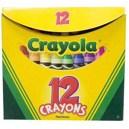 Мелки восковые Crayola 12 цв.